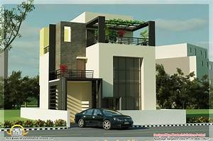 5 beautiful Modern contemporary house 3d renderings ...