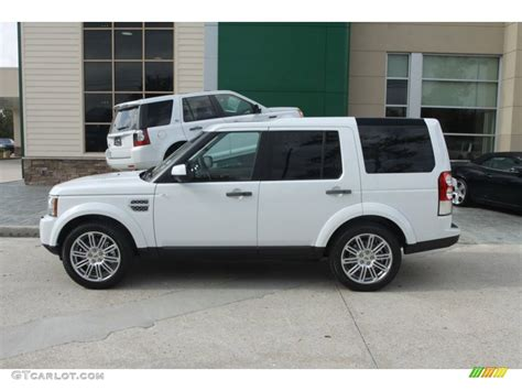 land rover hse white fuji white 2012 land rover lr4 hse lux exterior photo