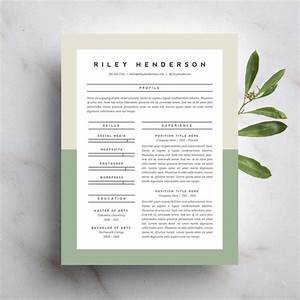 15 beautiful resumes you can buy on etsy taryn williford With beautiful resume templates