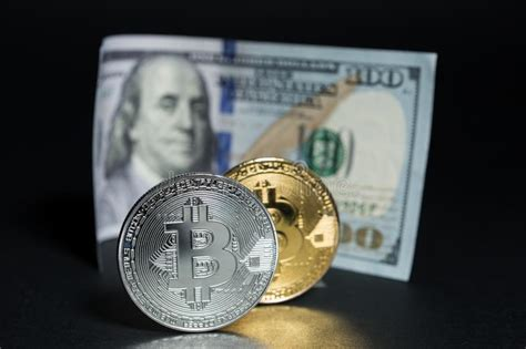 But what is the difference between this digital currency and the money we use today? Bitcoin Versus Real Money Concept Stock Photo - Image of dollars, polish: 93187054