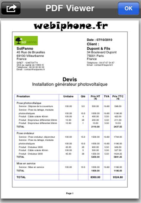 devis pose cuisine exemple devis auteur à devis travaux page 3 sur 4