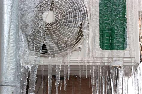 ac unit freezing  frozen ac coils