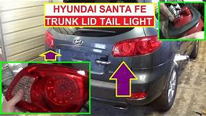 Trunk Lid Tail Light Removal And Bulb Replacement Hyundai