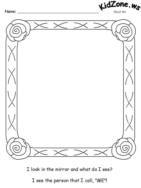 window covers for privacy a look in the mirror activity sheet