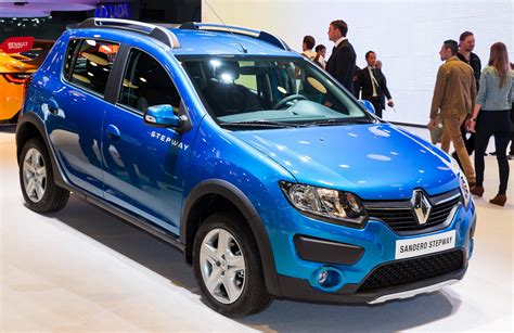 renault sandero stepway renault will build logan sandero and sandero stepway in