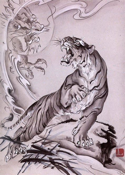 japanese tiger tattoo ideas  pinterest