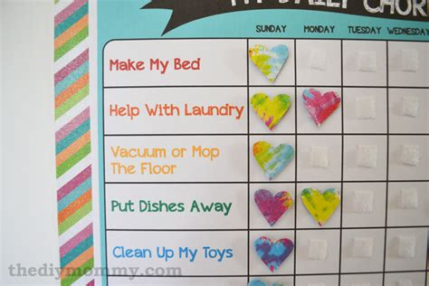 make a preschool chore chart free printable 749 | Preschool Chore Chart Free Printable by The DIY Mommy 3