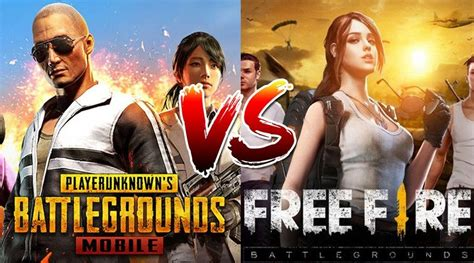 Graphics of free fire is much more basic than pubg Switching From PUBG Mobile To Free Fire? Here's What You ...