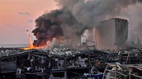 beirut bomb blast explosion trump kind says some str afp