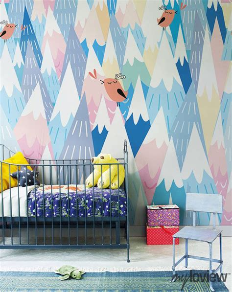 10 Cool Painted Wallpapers For Kids Rooms  House Design