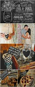 diy 10 year wedding anniversary party cute ideas pinterest With 10 year wedding anniversary decorations