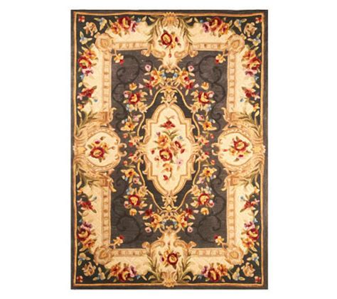 royal palace rugs royal palace 5 x 7 heritage medallion handmade rug qvc
