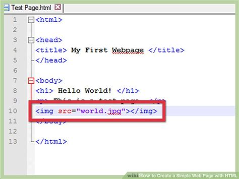 creating a simple web page how web pages work howstuffworks how to create a simple web page with html with exles