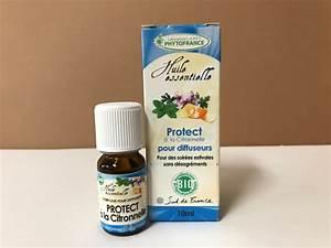 Diffuseur Anti Moustique Naturel : protect anti moustiques bio huiles essentielles pour diffuseur ~ Mglfilm.com Idées de Décoration