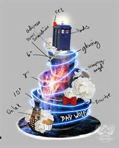 a and we re cake topper doctor who themed wedding cake artisan cake company