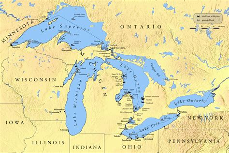 map of the week the great lakes storm of 1913