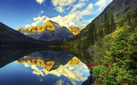 mount gould glacier national park hd wallpaper