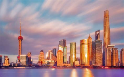 daily wallpaper sunset  shanghai china    waste  time