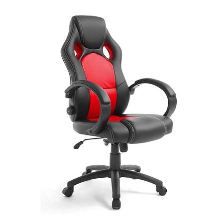racing office computer chair lumbar support adjustable pu
