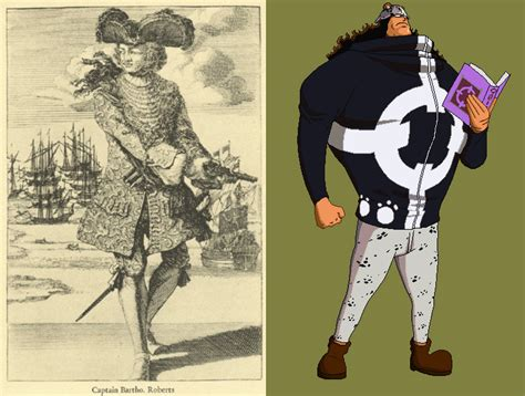 The Real Pirates Of One Piece