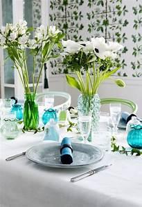 Tischdeko Blau Weiß : farbthema tischdeko blau wei tischdeko pinterest ~ Markanthonyermac.com Haus und Dekorationen