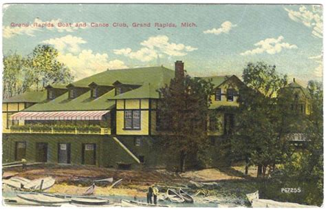 Boat And Canoe Club Grand Rapids by Grand Rapids Rowing Association History