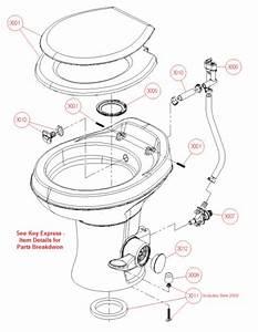Trekwood Rv Parts   2017    Plumbing    Toilet