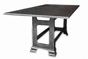 Table En Metal : table en m tal ~ Teatrodelosmanantiales.com Idées de Décoration