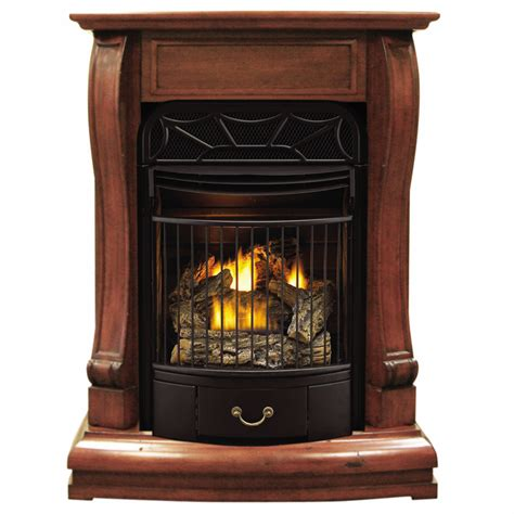 lowes gas fireplace shop style selections 29 13 in dual burner liquid
