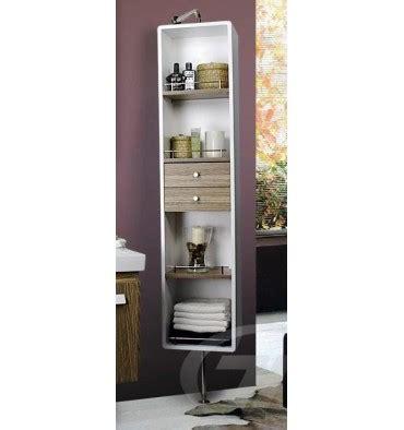chambre couleur chaude colonne de rangement amovible meuble salle de bain une