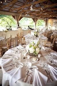 Round Reception Table Diy Rustic Summer Wedding Wedding Table Settings