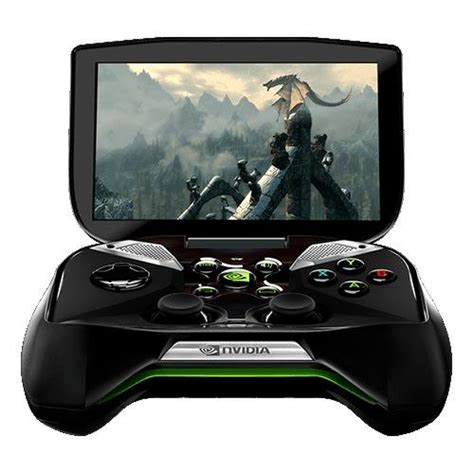 Nvidia Project Shield Handheld Game Console Gadgetsin