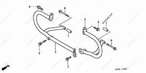 Honda Motorcycle 2003 Oem Parts Diagram For Engine Guard