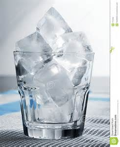 Ice Cold Water Glass