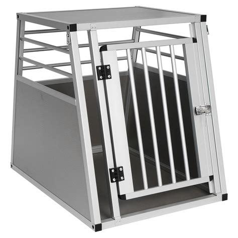 hundebox auto alu hundebox transportbox autotransportbox alu hund gitterbox reisebox auto 545 ebay