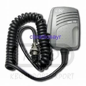 Kpo Replacement Cb Microphone 4 Pin Uniden Wiring  Cobra