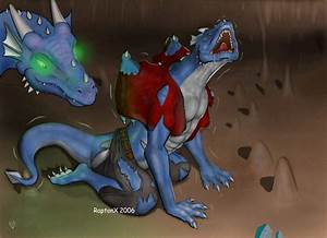 A dragoness's New mate by raptonx on DeviantArt