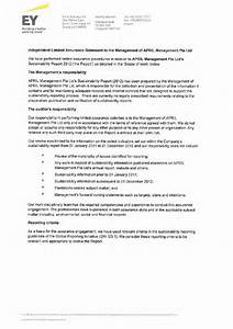 sustainability report 70 appendices With ernst and young resume sample