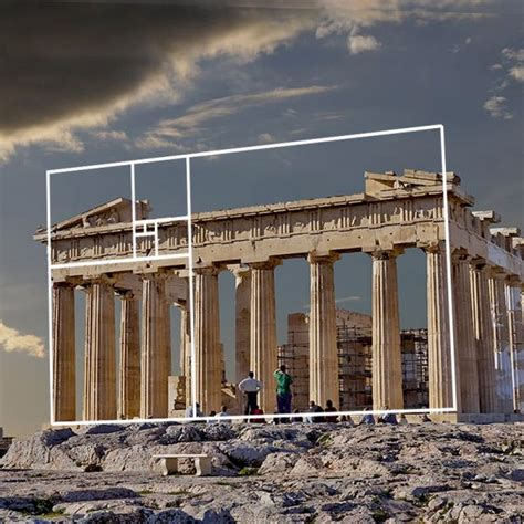 golden ratio examples art architecture geogebra