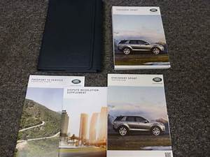 2018 Land Rover Discovery Sport Owner U0026 39 S Operator Manual