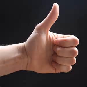 Good thumb vs Evil thumb by DomMcCann on DeviantArt