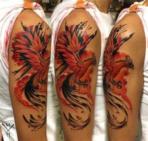 60 Best Phoenix Tattoo Designs  The Coolest Symbol For