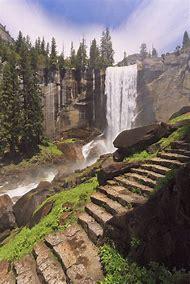 Waterfalls Yosemite National Park Trail