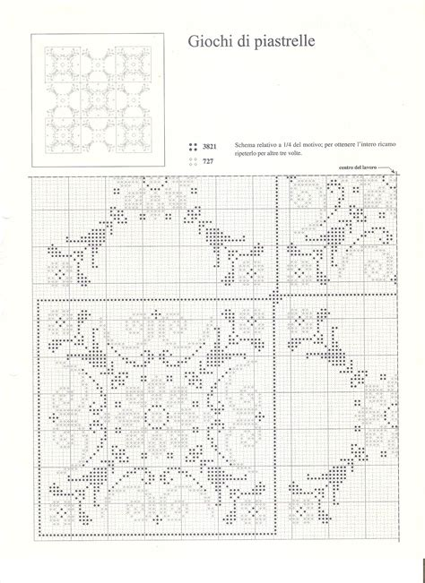 Cuscini Punto Croce Schemi Cuscino Motivi Geometrici Schema Punto Croce 3
