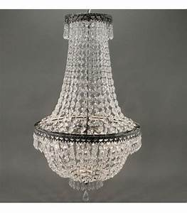 Suspension 3 Lampes : suspension cristal 3 lampes en verre et m tal antique ~ Melissatoandfro.com Idées de Décoration