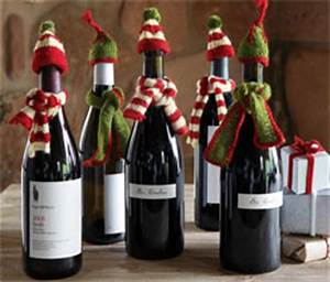 12 Merry Wine Christmas Decorations