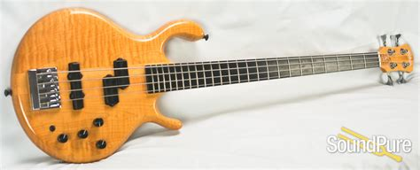 pedulla mvp 4 string electric bass 3337 used
