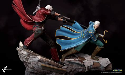 Devil May Cry  Sons Of Sparda Dioramas Kinetiquettes