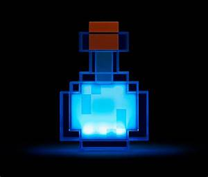 Minecraft Color Changing Potion Bottle ThinkGeek