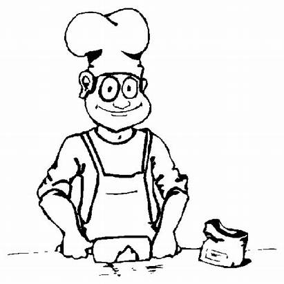 Coloring Cooking Kitchen Pages Coloringpages1001 Picgifs